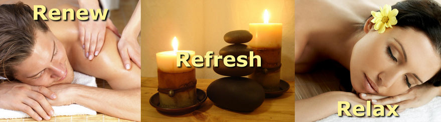 Renew, Refresh, Relax Banner